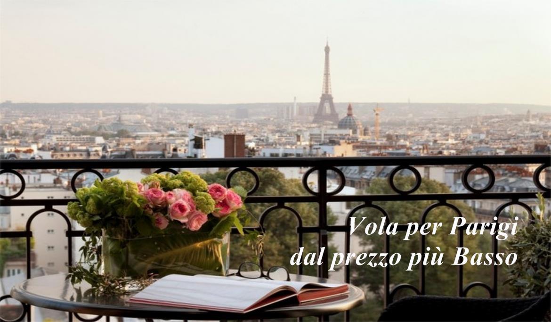 Vola per Parigi dal Prezzo più Basso