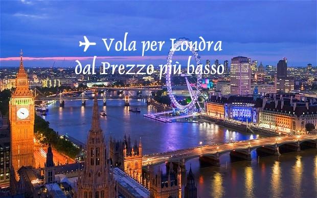 Voli da Perugia per Londra - solofferte.com
